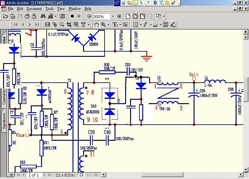 rcd接线电路图