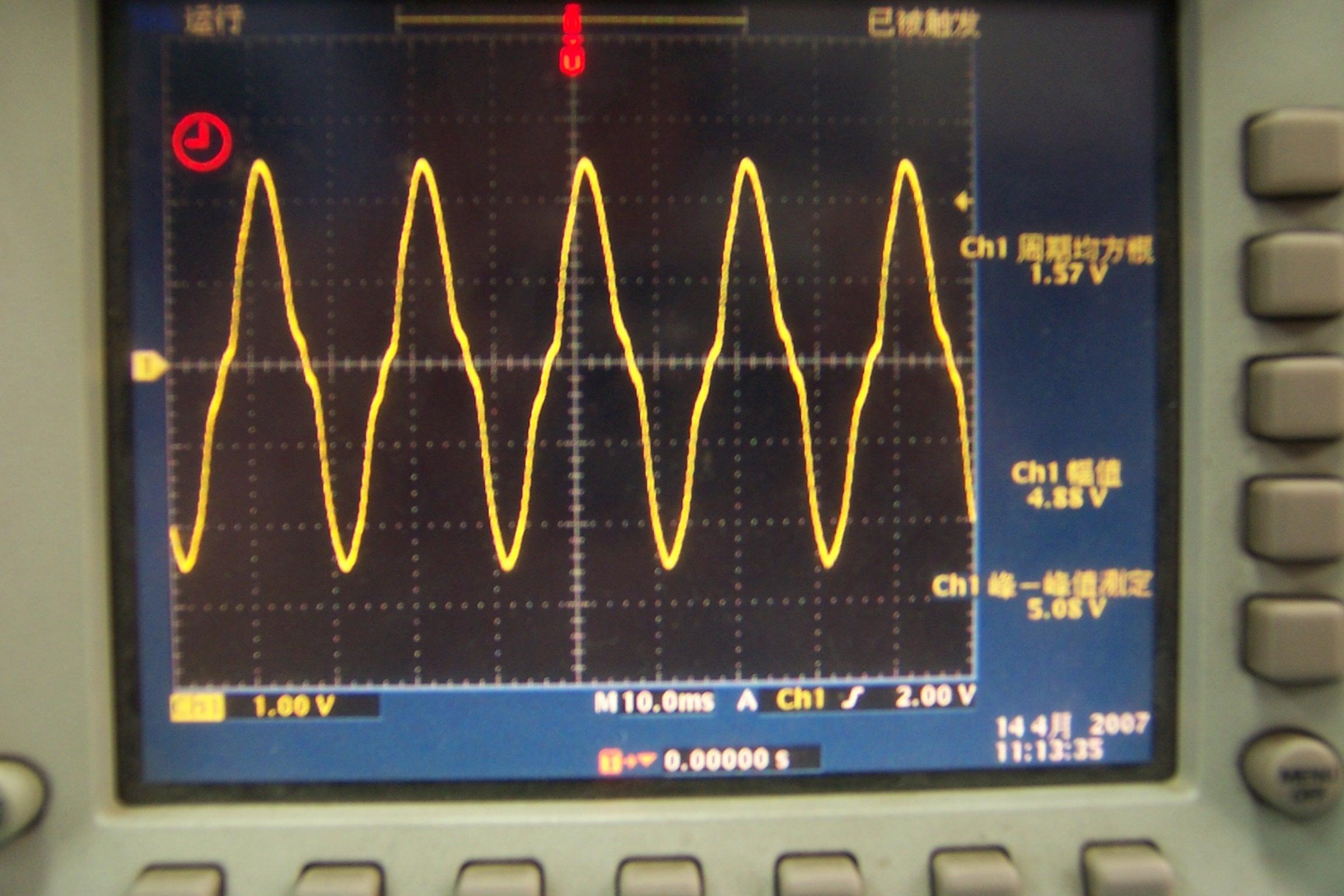 逆变器滤波输出波形-电源网