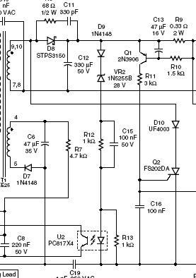 q2组成的过流保护电路