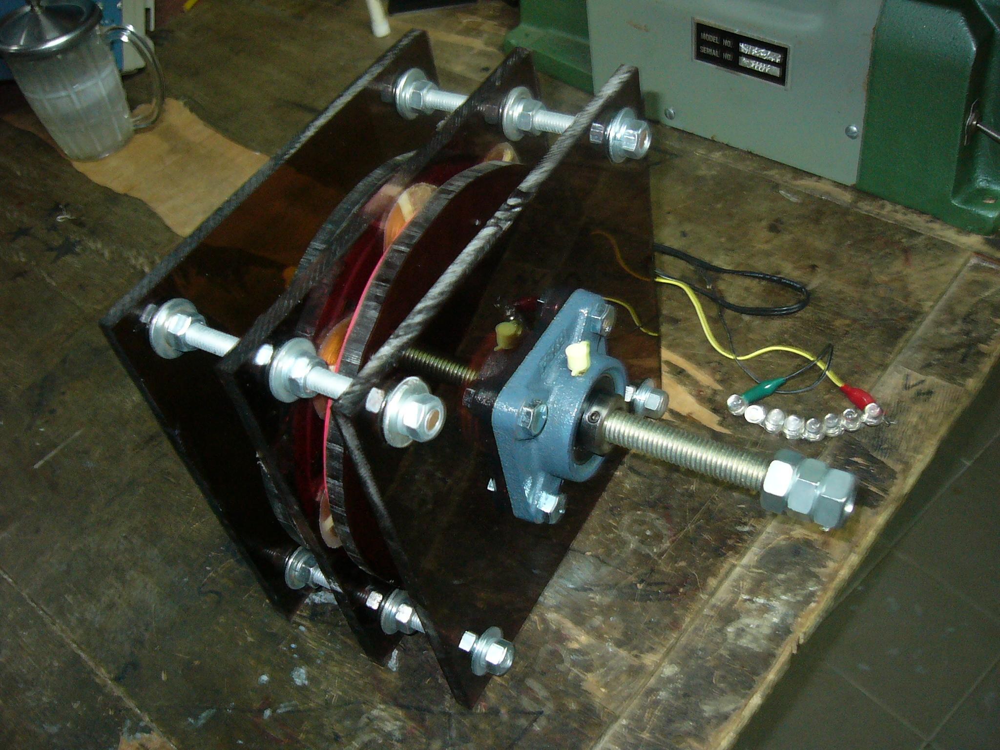 自制发电机