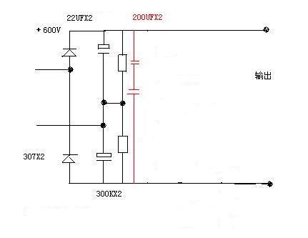 大家看看倍压后再加2电容的效果如何-电源网
