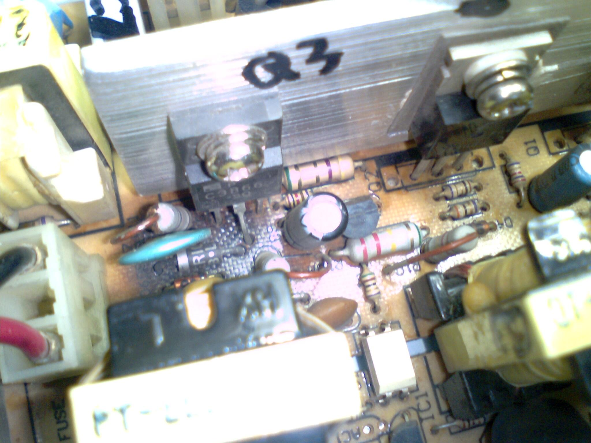 发现辅助电源变压器初级的