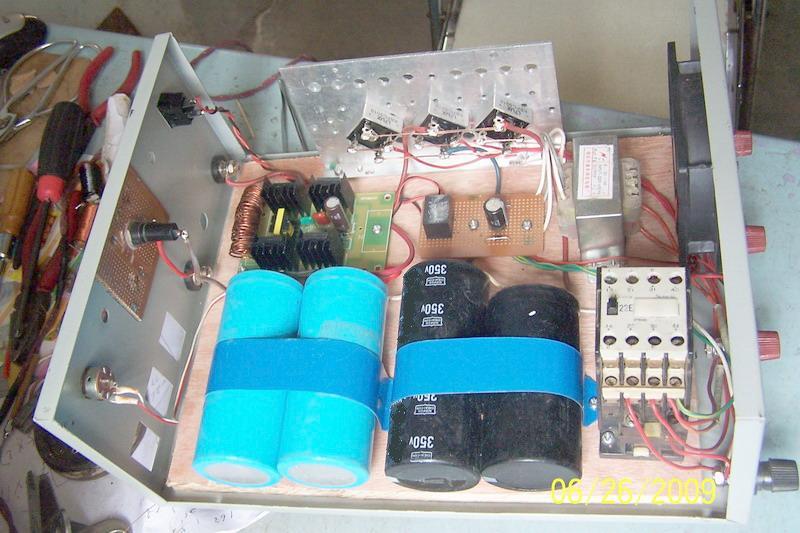 3kw4硅后级; 单相发电机1000w后级《有电路图》_移动/野外电源_电源网