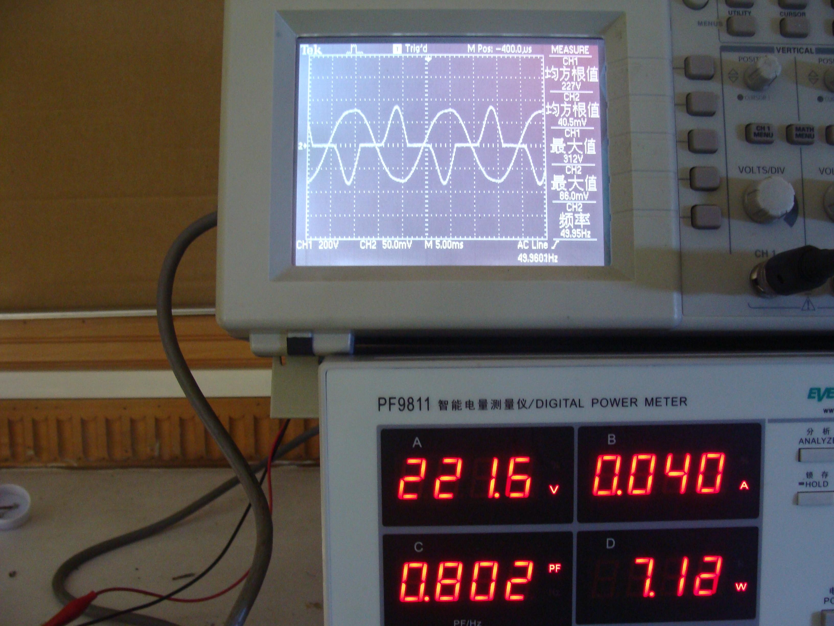 阻容降压日光灯接入电感镇流器后电流增大-电源网