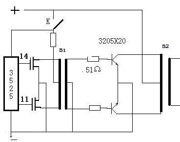 变压器的匝数是1:1的这图频率不能高过8k