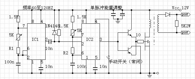 对条形变压器电子白金机的理解和试验制作