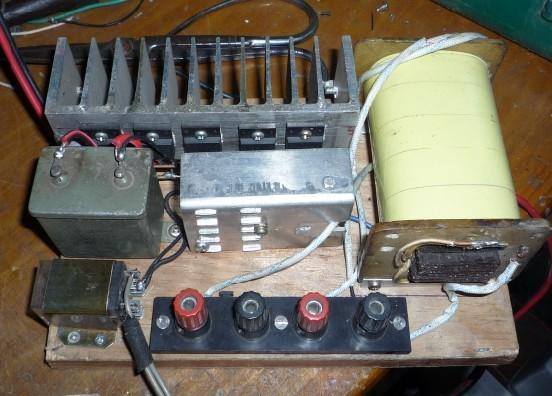 电子白金机变压器的制作和具体