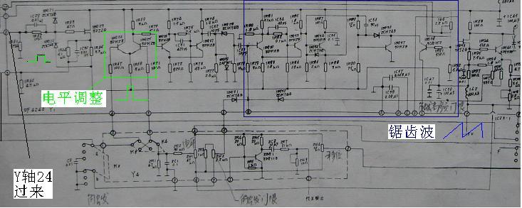 示波器电路�_示波器维修的一点经验