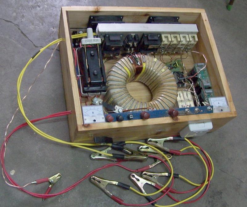 这是我做的48v5kw低频机