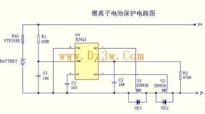 锂电保护电路讲解-电源网