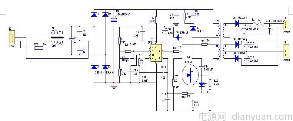 电路 电路图 电子 原理图 967_400图片