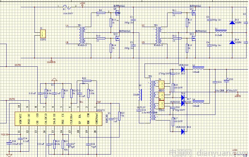 全桥变压器设计请教-电源网
