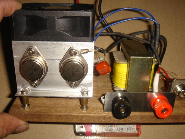 老式电鱼机接线法图