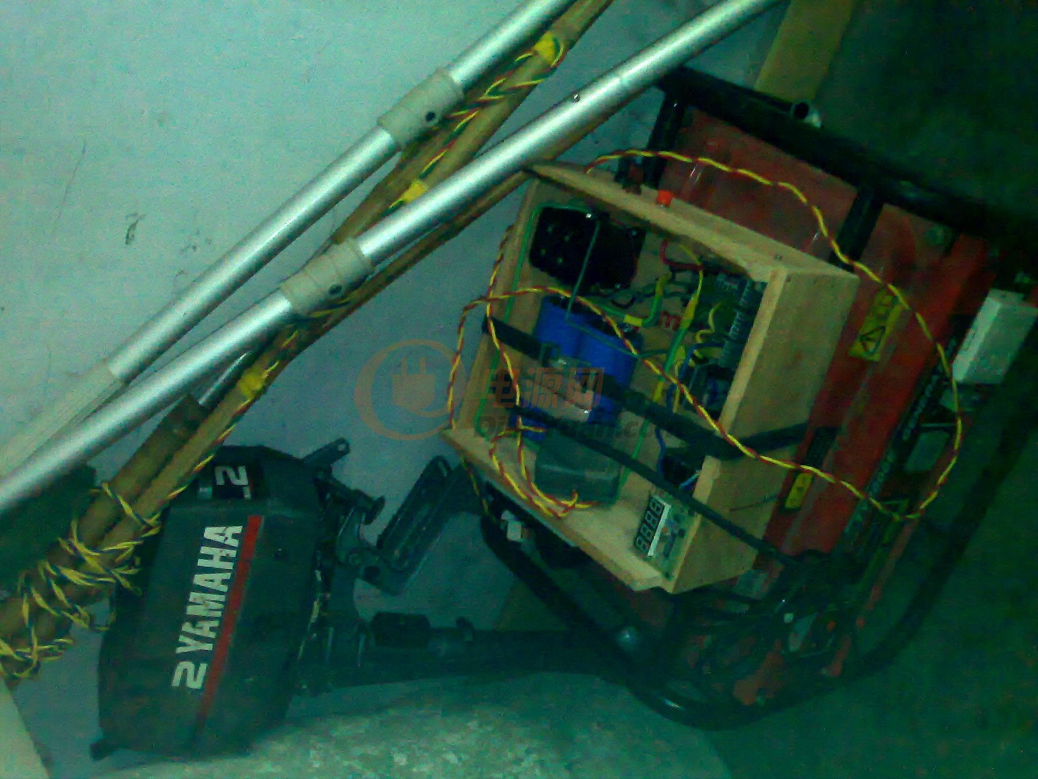 发电机3kw 昨晚试机才1米 高清图片