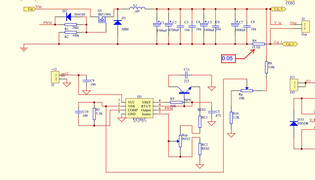 用uc383的uck电路