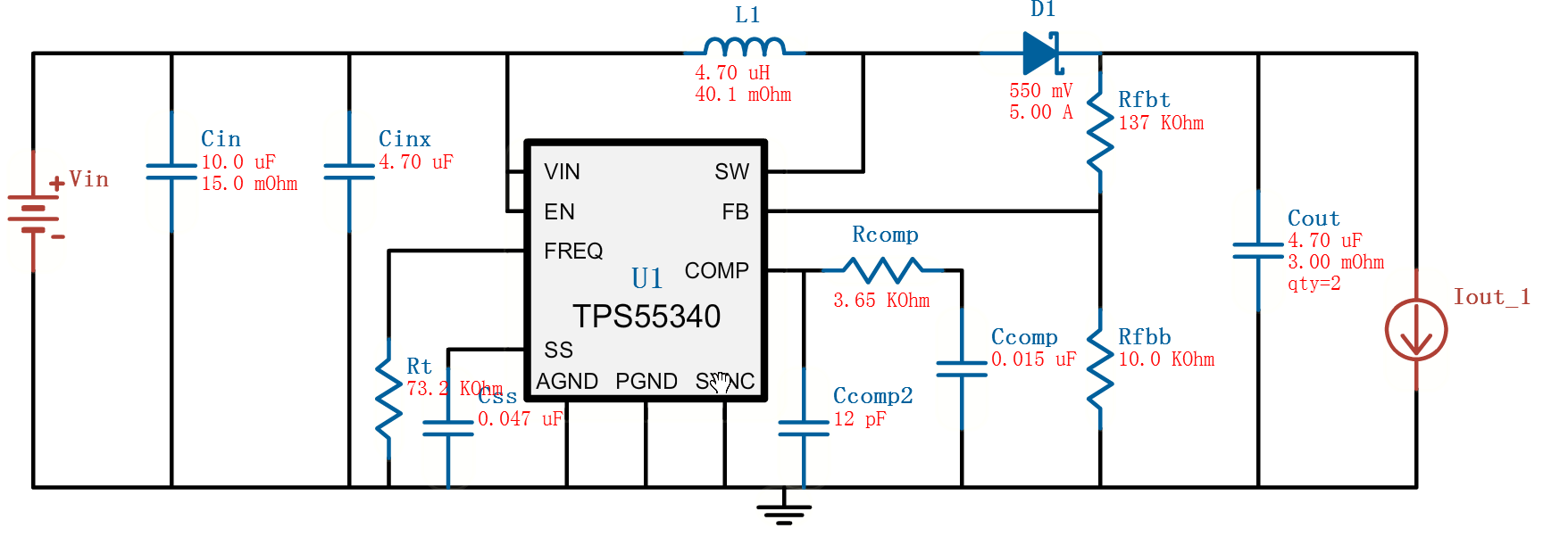 dcdc升压电路带负载问题