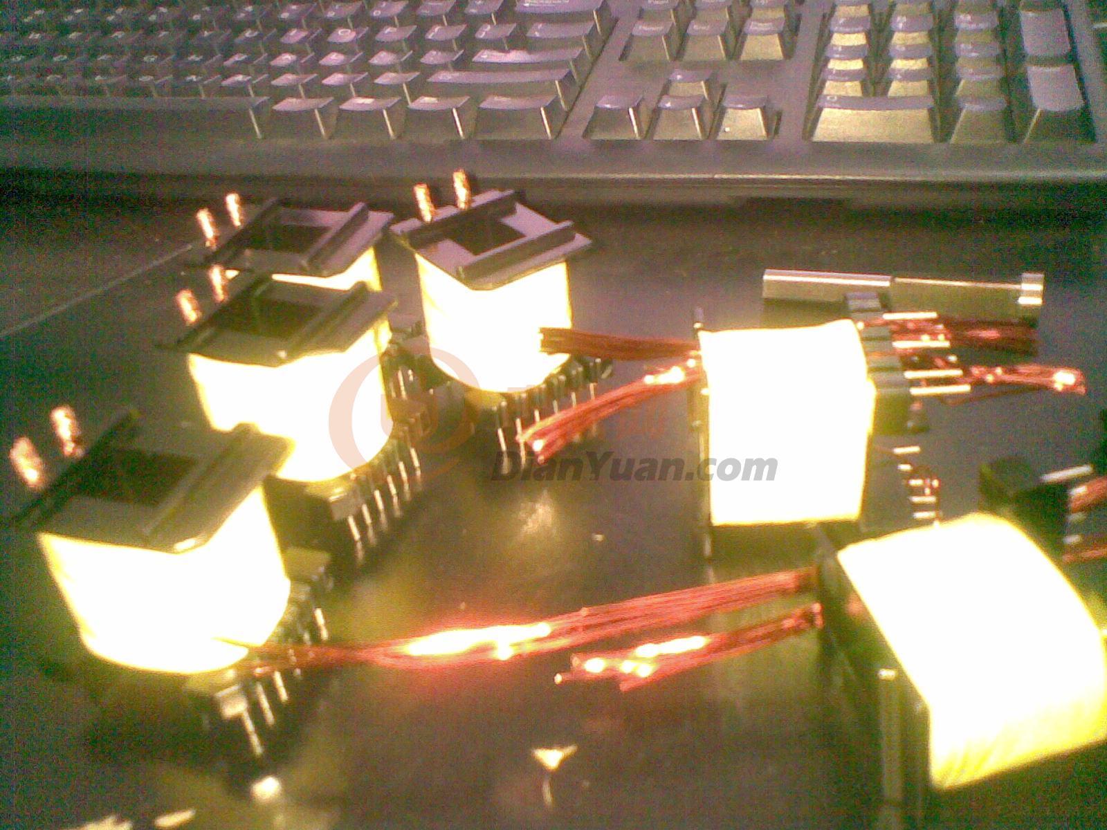 600w高频变压器的绕法-电源网