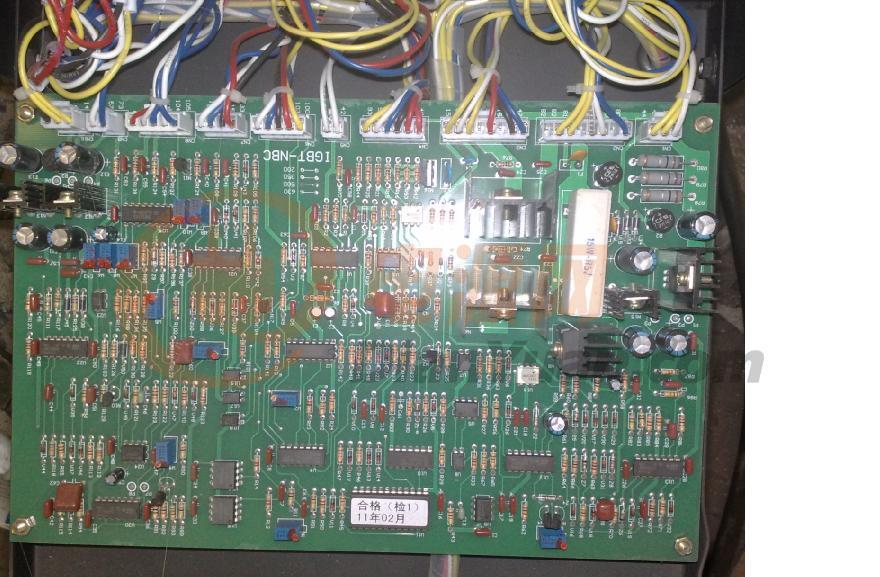 厂里买了批nbc-500焊机,网友传了份nbc-500的电路图,不知道对不对,传图片