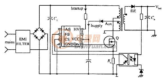 电路 电路图 电子 原理图 586_275图片