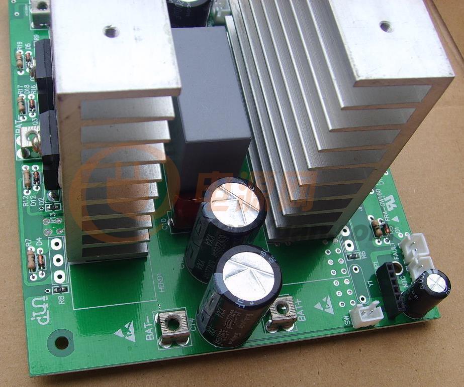 自制太阳能发电:4.5kw工频逆变器