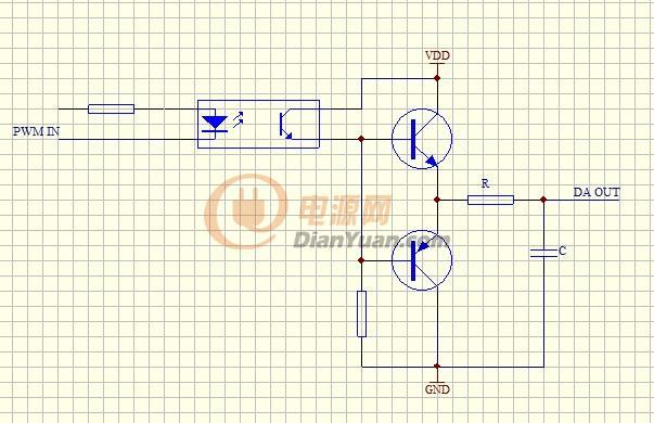【原创】一种pwm调光接口电路