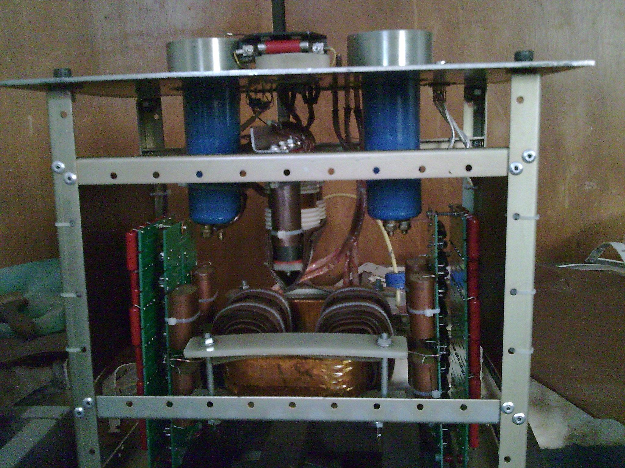 大功率高压变压器内部结构