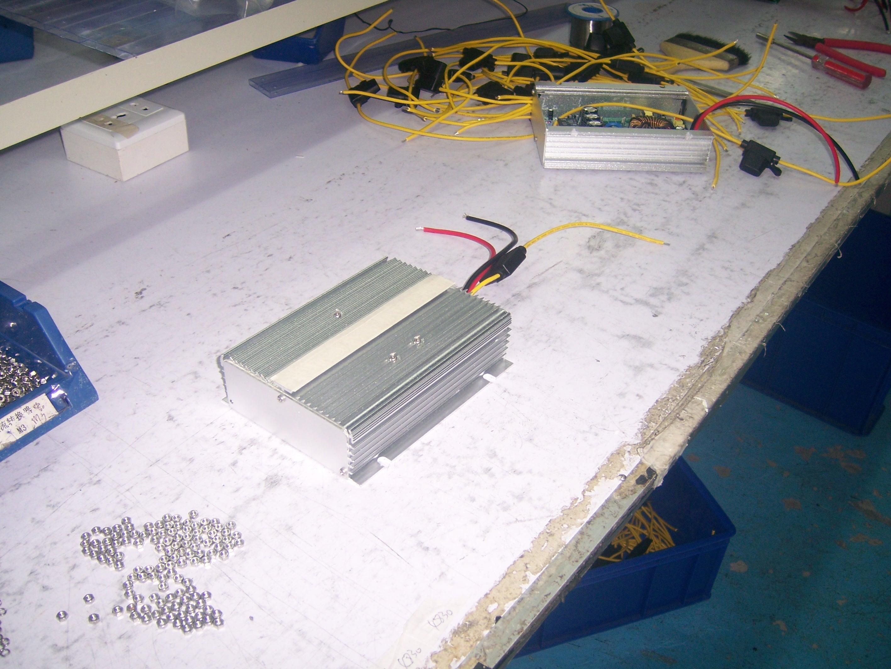 电动轿车直流转换器接线图
