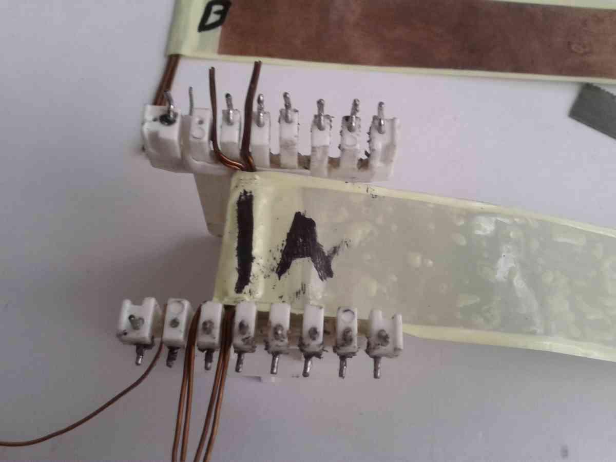 详细铜带绕制500w变压器