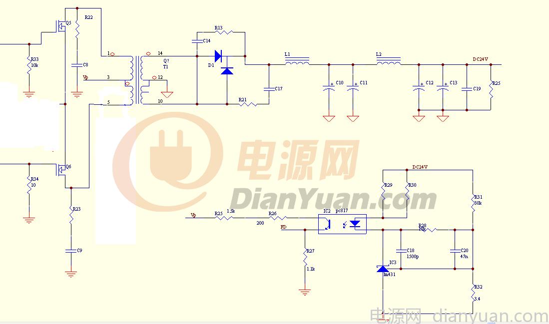 样机做好了 推挽结构,变压器用EE55 3+3:24,KA3525工作在125kHz,变压器的绕组温度很高,带载1000W就到120了(室温25左右),磁芯温度低20度左右。如何解决温升问题,请高手帮忙指点,是变压器的磁芯太小吗,要加大吗?希望稳定带载1500W,短时2000W。 还有个问题,变压器允许最高的工作温度一般不超过多少合适?规格书上wire和tape是130,bobbin150,我们留多少余量合适。 变压器是先绕初级,再绕次级,这个顺序有问题吗,如果先绕次级再绕初级是否会好点?