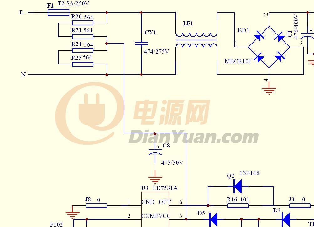 【讨论】关于反激拓扑电源的ic启动取电方式讨论