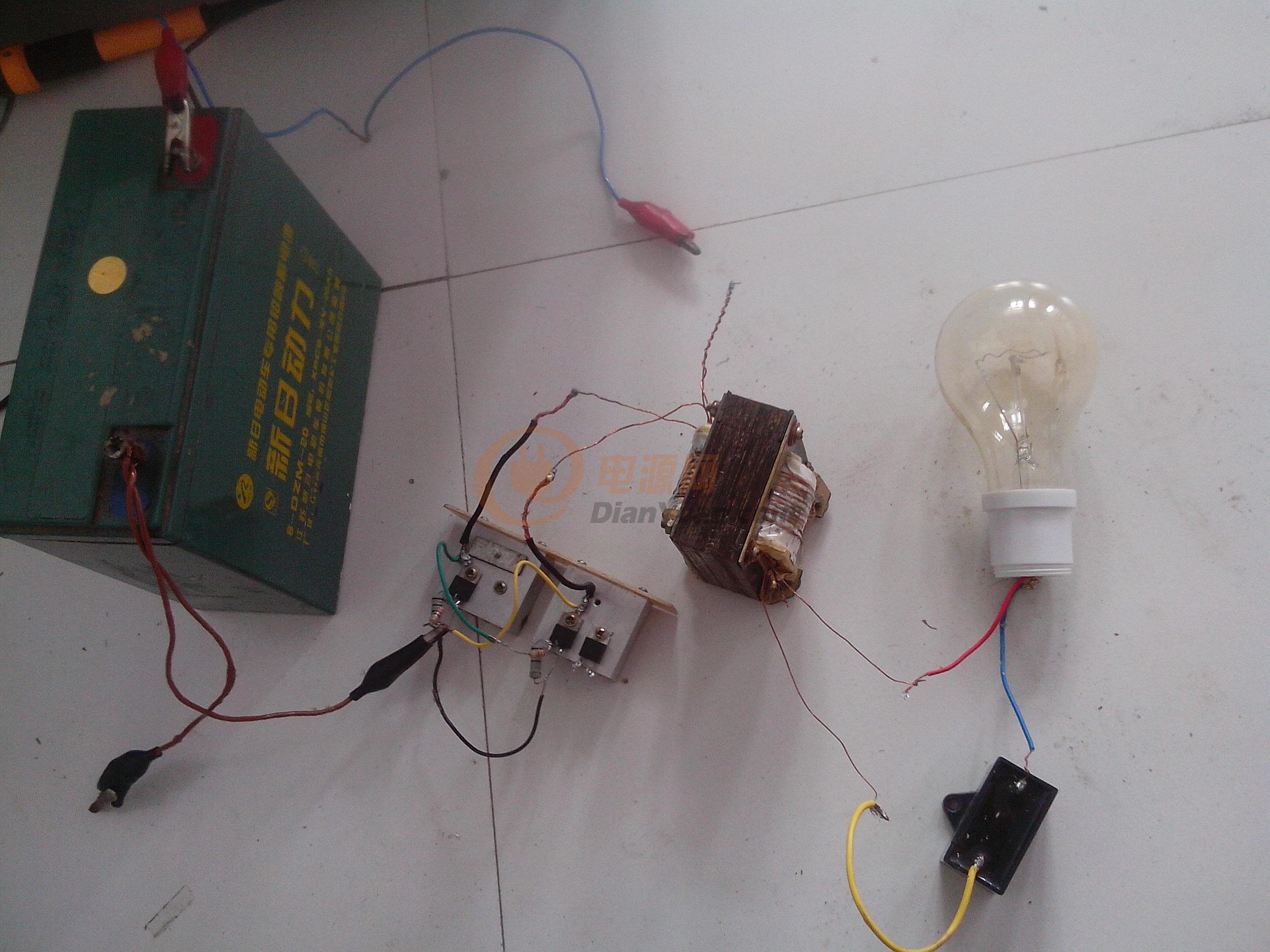 请教低频自激机-电源网