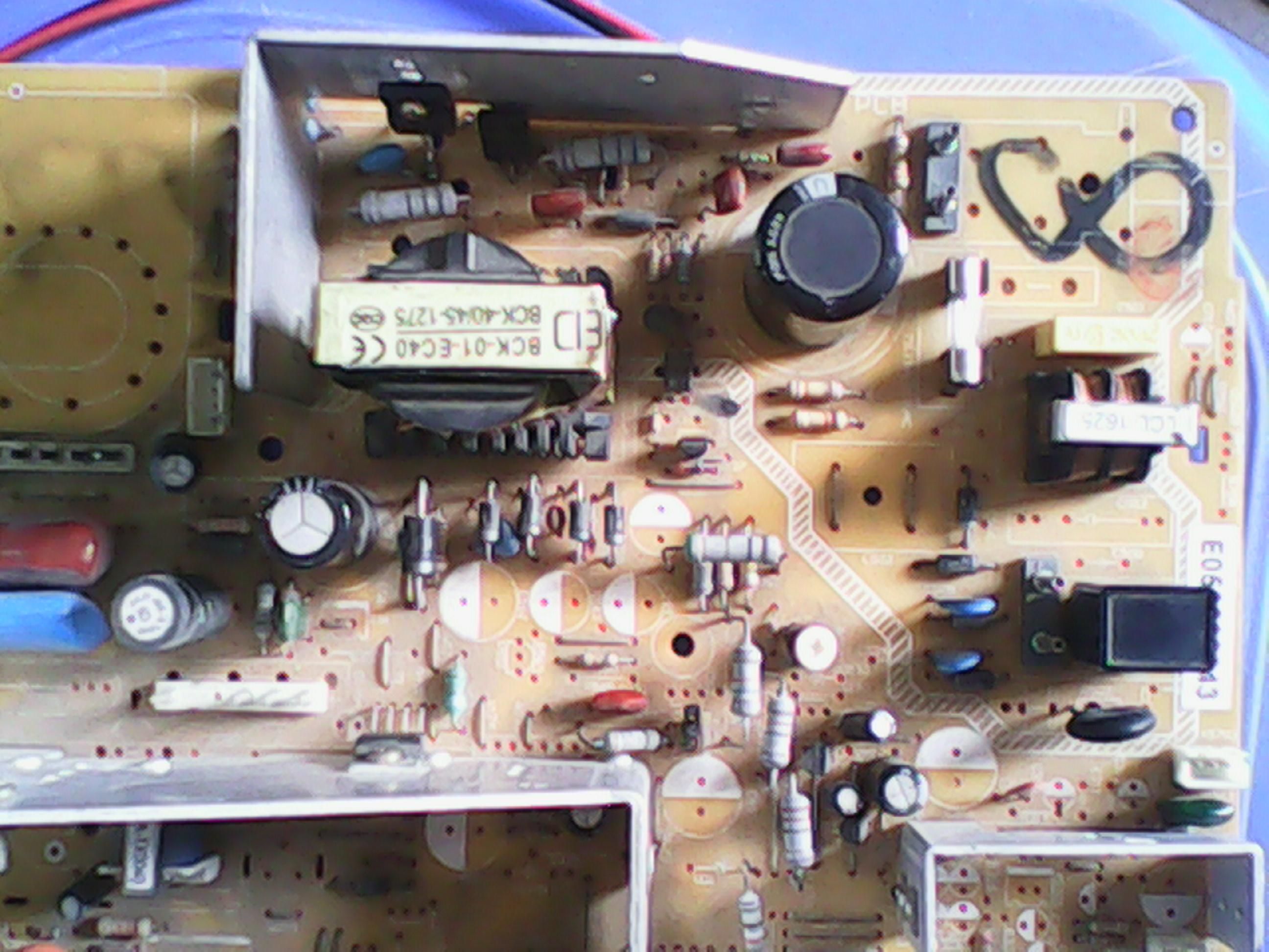 电视机电源模块代换6553a接线图