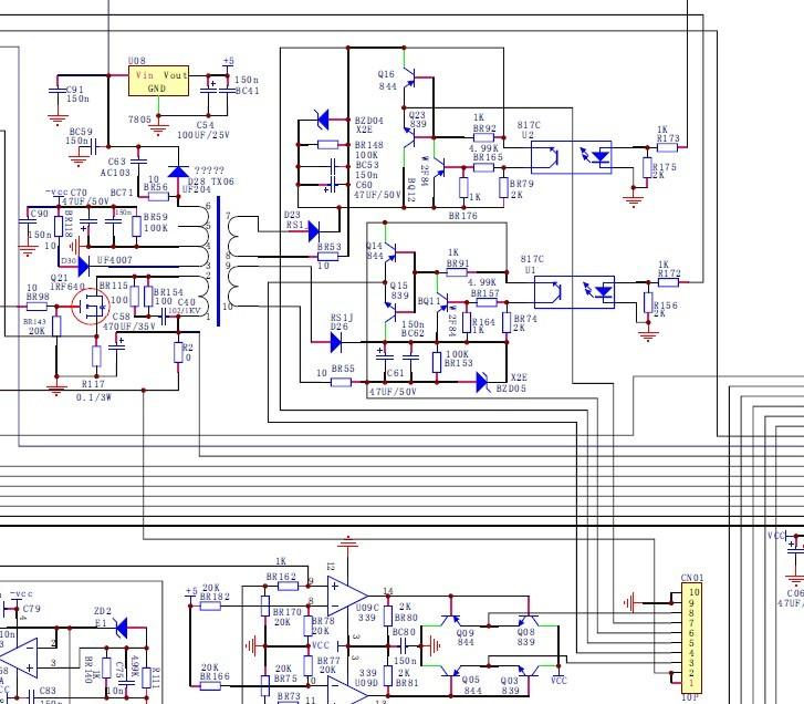 逆变器电路图分析