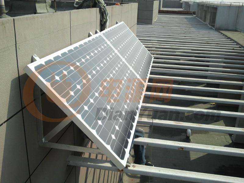 太阳能电池板的支架如何制作?250w的-电源网