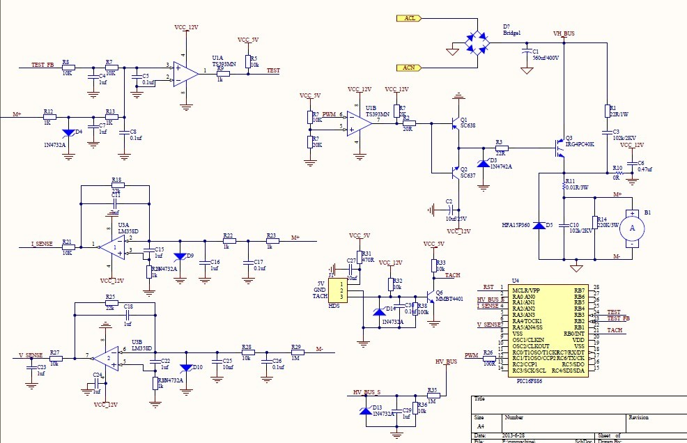 无刷直流电机驱动电路干扰巨大
