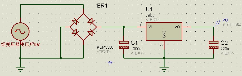 5v稳压电源电路图,急图片