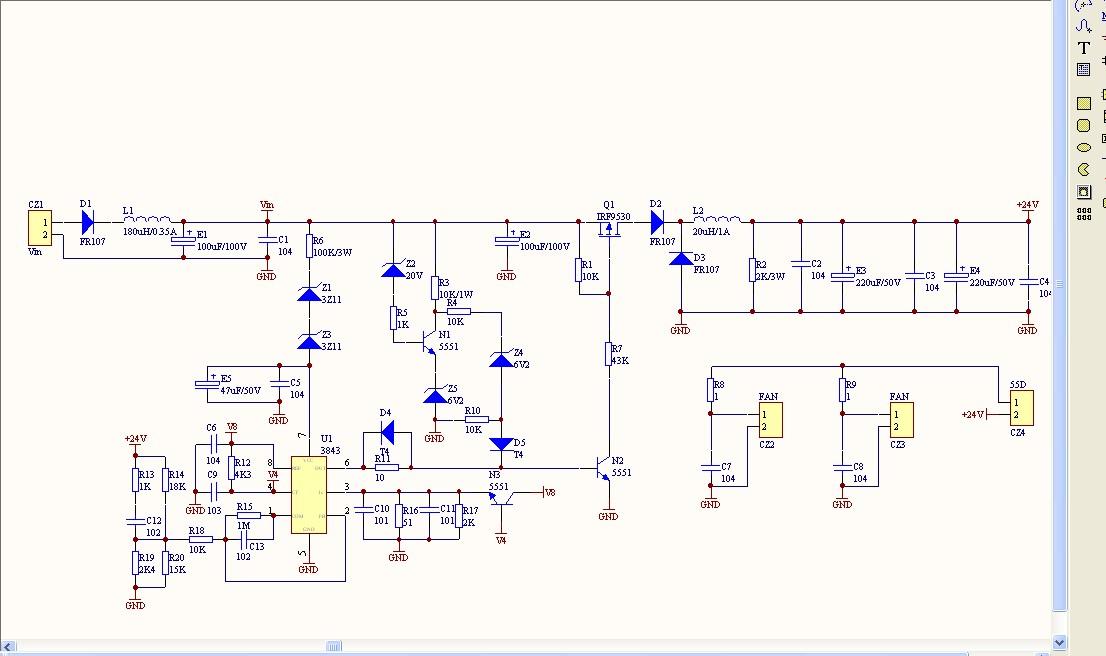 应用的 50w 多轨 ac/dc 电源 emi 合规性的集成 1-3s 独立电池充电器图片
