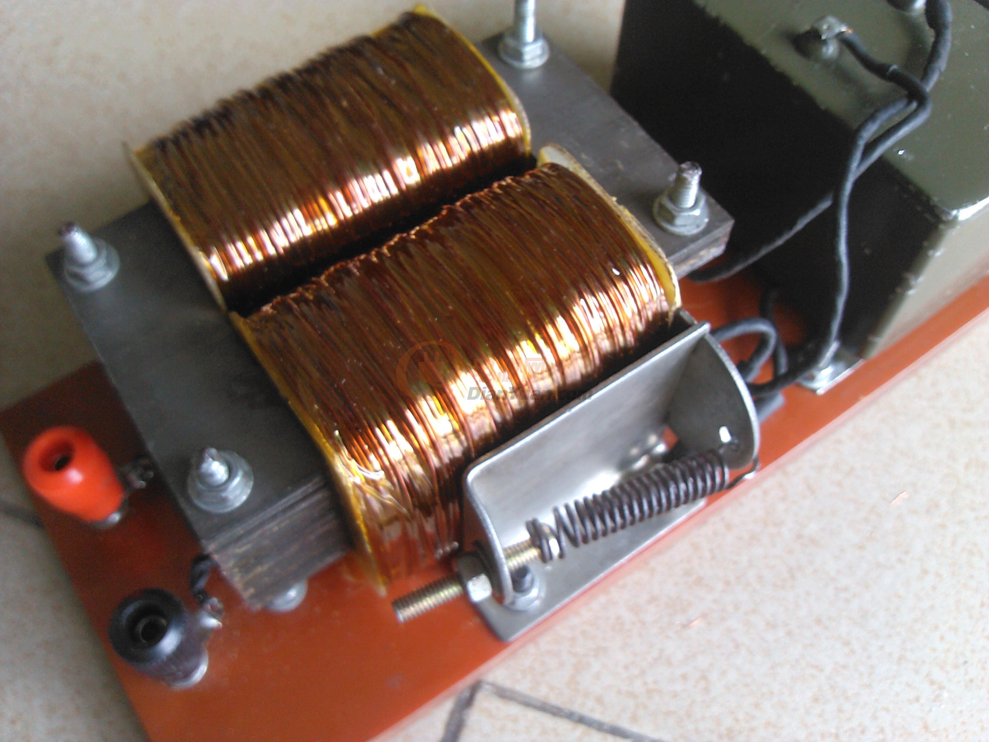 大功率电子白金机制作完成.