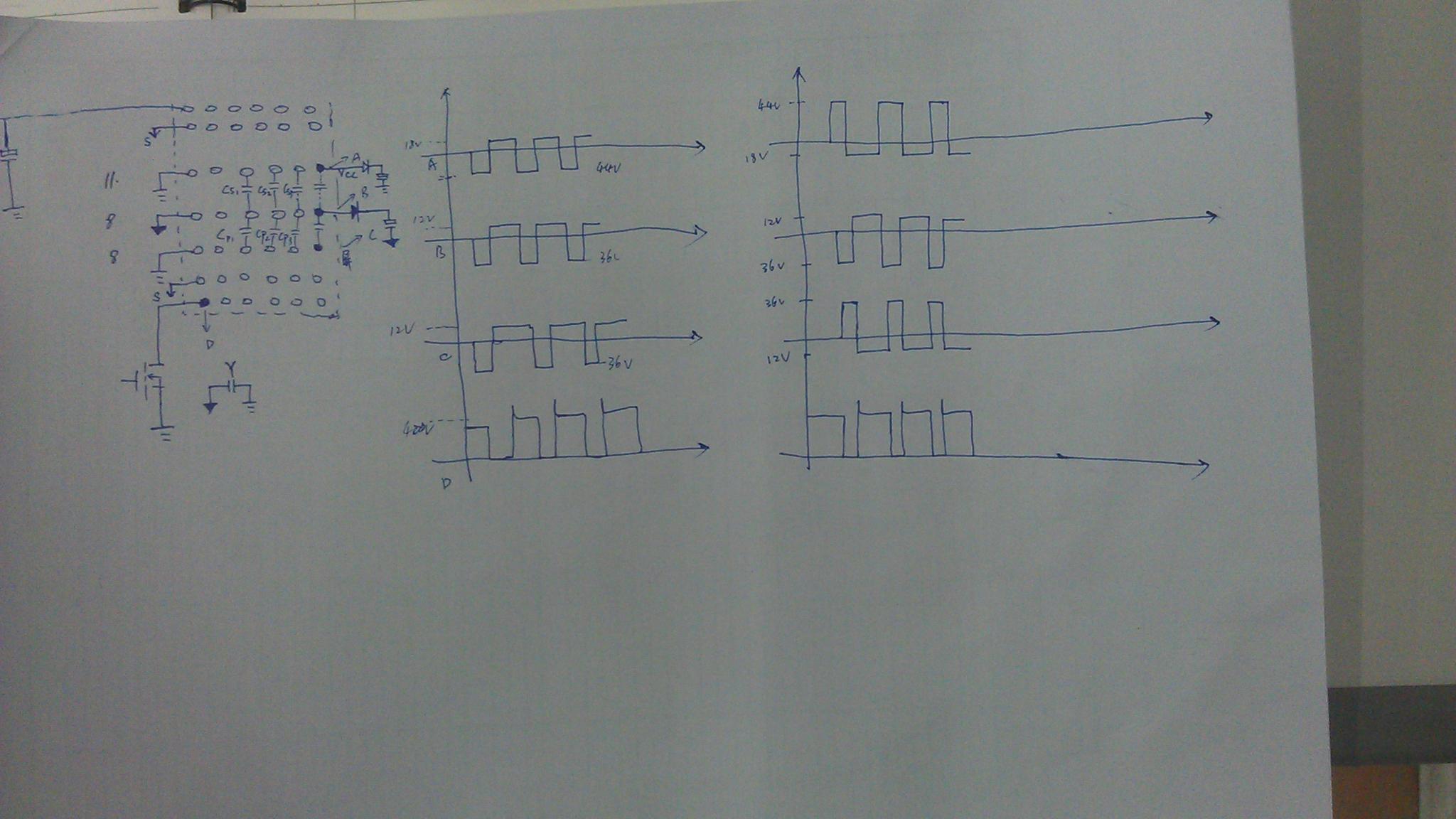 ,耗能和辐射的根源之一。再换一种Z绕法,按此法计算一下外观总电容,看看两种绕法初级绕组层间分布电容的大小,就知道哪种绕法分布电容像海绵一样吸收能量比较大一些了。组间分布电容也可照搬。 共模变差模: 比如,共模是两条信号线加公共地线,共三线,两条信号线分别对地有相同的2V交流,是共模信号,如果两条信号线分别有不同的串联线阻,输出给后级,而后级有不同的输入电阻对地,结果就是分压比不同,那么传到后级的两个信号线之间就有电压差,这个就是由共模传导变化过来的差模信号。这个地,可以是电源地,也可以是机壳地,也可以是环