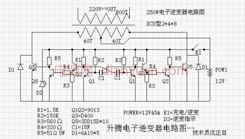 48个15d的电鱼机环形变压器