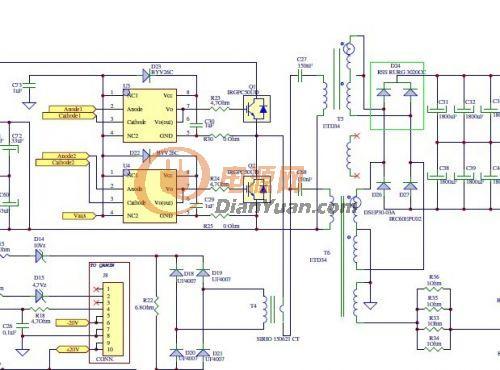 高频变压器输出绕组直接并联可以么?-电源网