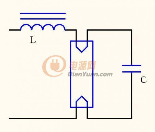 电子镇流器接线图14; 单灯双控电路图;