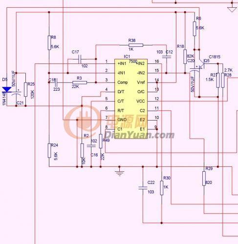 TL494 外面电路问题