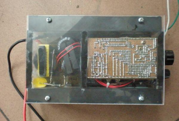 纯手工高频逆变器 1kw四场四硅机-电源网