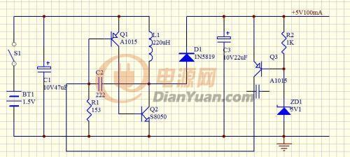 超级简单的手机电池应急充电器-电源网