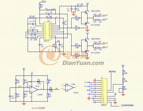 sg3525驱动板接线图