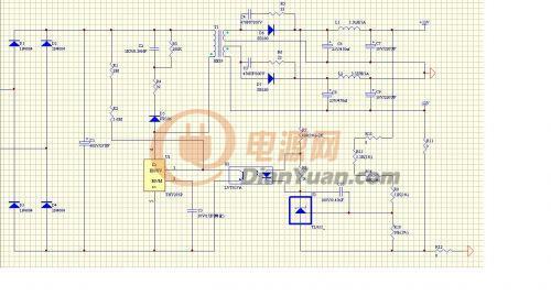 使用电路图如附件,测试电源纹波 12v/0.2a和-12/0.