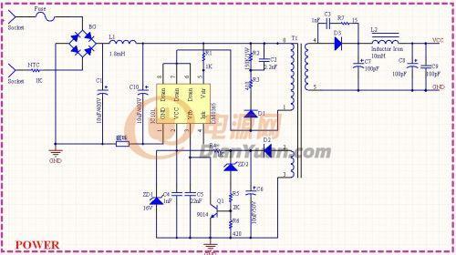 请教功放电路的电源线路图的问题~~-电源网