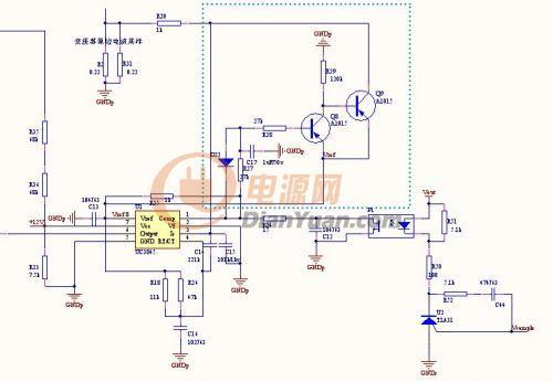 这个uc3845的外围电路有什么功能呢?图片