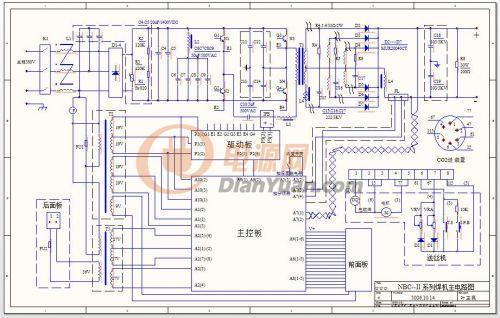 焊机调节开关接线图